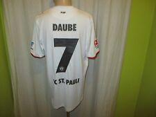 "FC St.Pauli DoYou Football Matchworn Trikot 13/14 ""KIEZHELDEN"" + Nr.7 Daube Gr.M"
