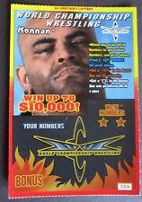 Konnan World Championship Wrestling Star SV Instant Lottery Ticket