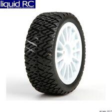 Losi 41006 FF/RR Gravel Spec Tires (2) Mounted: Mini Rally