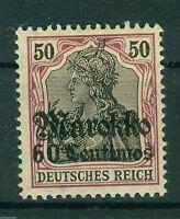 Deutsche Auslandspostämter Marokko 53 II , * ,