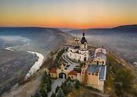 A1 | Old Orhei Monastery Poster Art Print 60 x 90cm 180gsm Moldova Gift #12633
