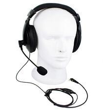 2Pin PTT/VOX Headset Earpiece For Kenwood Retevis H777 Baofeng 888s Radio US New