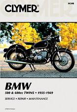 BMW R50 R60 R69 500 & 600cc Twins 1955-1969 Clymer Manual M308