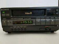 SONY EV-C3 Video8 8mm VCR Editing Player