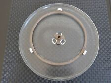 SET Microwave oven turnable plate '610 Y24', 25.5cm incl. rollers & turn holder
