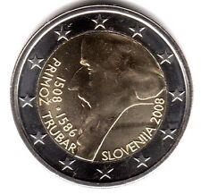 2 Euro-Sondermünze SLOVENIEN 2008 PRIMOZ TRUBAR