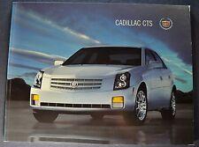 2007 Cadillac CTS 32pg Catalog Brochure CST-V Excellent Original 07 Canadian