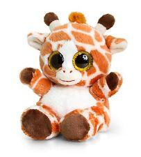 Keel Toys Animotsu 15cm giraffe Beanie Cuddly Soft Toy Plush SF0955