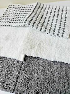 """6 Pack Towel Set Luxury 100% Cotton Washcloth 12"""" x 12"""" in Wholesale"""
