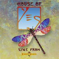 YES - HOUSE OF YES-LIVE FROM HOUSE OF BLUES  2 CD NEU