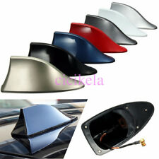 Auto Car Shark Fin Roof Antenna FM/AM Radio Signal Aerial Decoration Universal