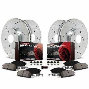 Power Stop K6943 Z23 EvolutionSport Brake Upgrade Kit For 17 Infiniti Q60 NEW