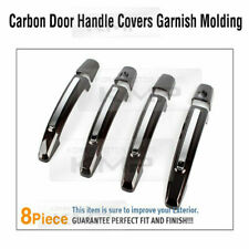 Carbon Door Handle Catch Covers Garnish Molding For Chevrolet 2008 - 2016 Cruze