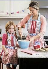 MATILDA JANE HEARTS AND CRAFTS MOMMY & ME APRON SET LOT NEW NWT CAMP Gift