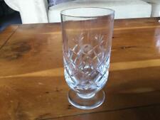 British Airways Concorde Royal Brierley Lead Crystal Wine Glass 1976 Rare
