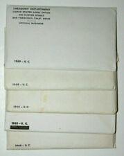 Lot of 5 1969 Uncirculated P & D Mint Set - 40% Silver