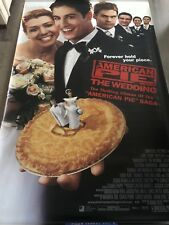 HUGE 8x5 FOOT ADVERTISING BANNER FOR THE MOVIE 'AMERICAN PIE THE WEDDING'