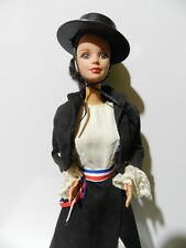 BARBIE DOLLS OF THE WORLD CHILE 1991 TRADITIONAL COSTUME