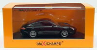 Maxichamps 1/43 Scale Diecast 940 061020 - 2001 Porsche 911 Carrera - black