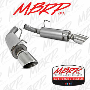 MBRP Dual Muffler Axle Back Exhaust Fits 2005-2010 Ford Mustang GT 4.6L V8