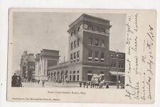 North Union Station Boston Mass, Usa 1905 Postcard 477a