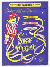 OPERA HOUSE BLACKPOOL 1948 SKY HIGH MUSICAL CHARLIE CHESTER SYLIA WELLING