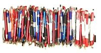 100 Bulk Lot Wholesale Misprint Ball Point Retractable Click Pens FREE SHIP