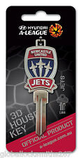 NEWCASTLE UNITED JETS SOCCER KEY A-LEAGUE LOCKWOOD LW4 KEY
