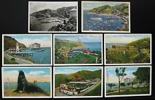 1920's 1930's Catalina Island California Postcard Lot, 8 Postcards Free Shipping
