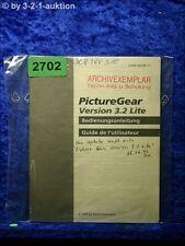 Sony Bedienungsanleitung DCR TRV510 Picture Gear Version 3.2.Lite (#2702)