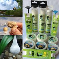 5-10M PVA MESH WIDE Tube Refills Stocking Pellet Boilie Bait Carp Mix Bags Net