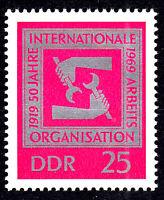 1518 postfrisch DDR Briefmarke Stamp East Germany GDR Year Jahrgang 1969