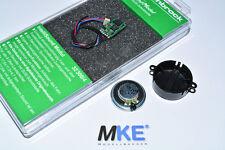 Uhlenbrock 32300 Intellisound 3 Soundmodul & Lautsprecher & Wunschsound NEU &OVP