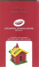 New Listing2020 Hallmark Ornament Colorful Schoolhouse Crayola