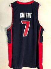 Adidas Swingman NBA Jersey Detroit Pistons Brandon Knight Navy Motor City sz XL