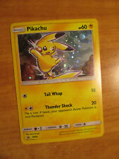 NM Pokemon Pikachu Carta Stella Nera Promo Set SM98 Holo Sidekick Collezione Box
