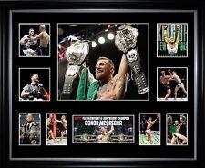 Conor McGregor Creates History Limited Edition Signed Framed Memorabilia