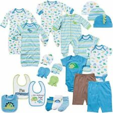 Newborn Baby Boy Clothing 22-Piece Perfect Baby Shower Gift Size 0-3M, Blue