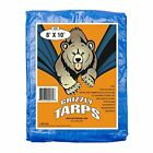 Large Multi-Purpose Waterproof Heavy Duty Poly Tarp Cover 5 Mil Thick 8 x10 Feet