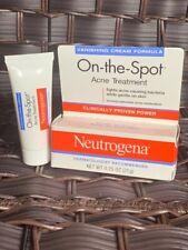 Neutrogena Vanishing Cream On-The-Spot Acne Treatment Max Strength .75oz Each