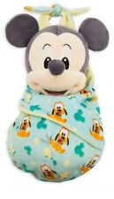 Disney Store Mickey Mouse Authentic Soft Toy In Pouch - Newborn Gift Bargain