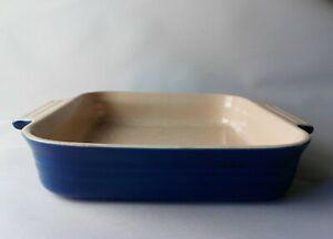 Le Creuset Square Stoneware Dish Blue