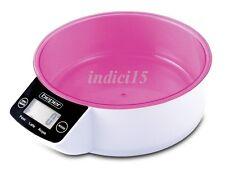 Rassegna Bilancia 5kg Cucina Elettronica accensione Touch  ROSA Beper NUOVO