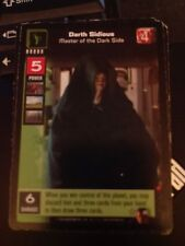 Star Wars Young Jedi TCG Duel Fates Darth Sidious Master Dark Side Non-Mint