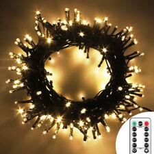 300 LED Weihnachten Party LED Lichterkette Innen Außen Beleuchtung Fernbedienung