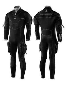 Waterproof Men's SD Combat 7mm back zip Semi Dry
