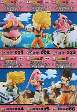 NEW DRAGON BALL Z WCF World Collectable Figure VS Majin Boo Goku Gotenks Gohan