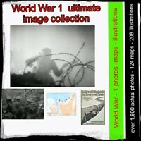 World War 1 - image collection -  1600 photos, 124 maps, 208 illustrations