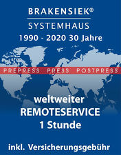 "freier Remoteservice 1h für PrePress Produkte wie ""Heidelberg Image Control"""