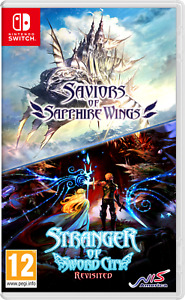 Saviors of Sapphire Wings/Stranger of Sword City Revisited (Nintendo Switch) NEW